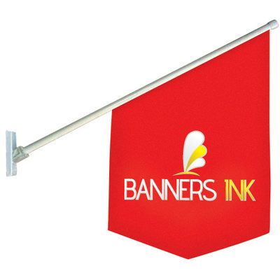 Shop Front Flag 600mm x 400mm - (printed with 4 colour(s))  (SF_Flag_BI)