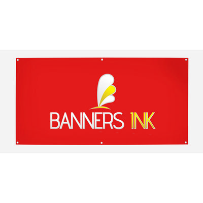Double Sided Vinyl Banner 3000mm x 1000mm  - (printed with 4 colour(s)) VB_2_DS_BI