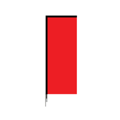 Small Single Sided Wing Banner 5 - Includes Decoration 6SS/S_BI