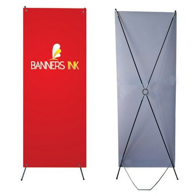 X Banner - (printed with 4 colour(s))  (XB_BI)