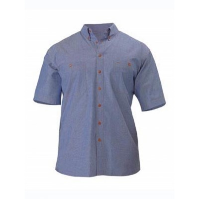Bisley Chambray Shirt - Short Sleeve