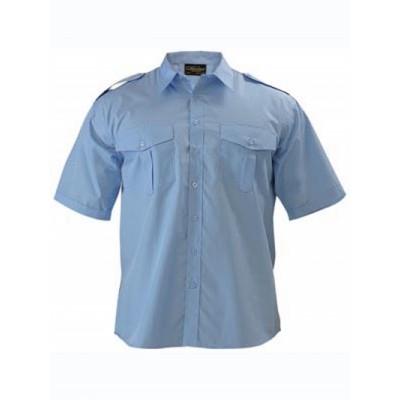 Bisley Epaulette Shirt - Short Sleeve