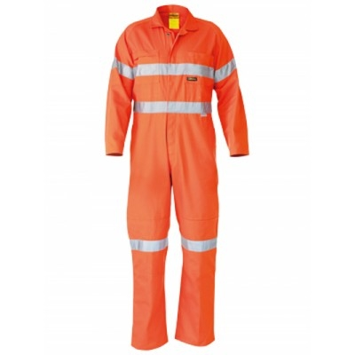 Bisley 3M Taped Hi Vis Drill Coverall