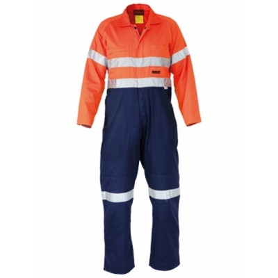 Bisley Westex Flame Retardant Ultrasoft 3M Taped Hi Vis Two Tone