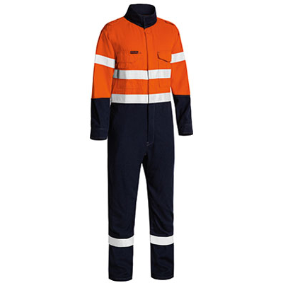Bisley Tencate Flame Retardant Tecasafe Plus Taped  Two Tone Hi Vis Lightweight Fr Non Vented Engineered Co