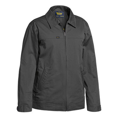 Cotton Drill Jacket W/ Liquid Repellent Finish