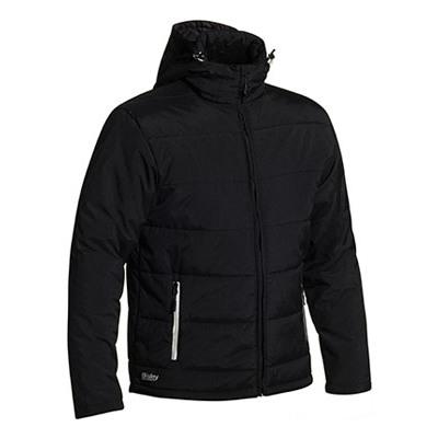 Bisley Puffer Jacket With Adjustable Hood