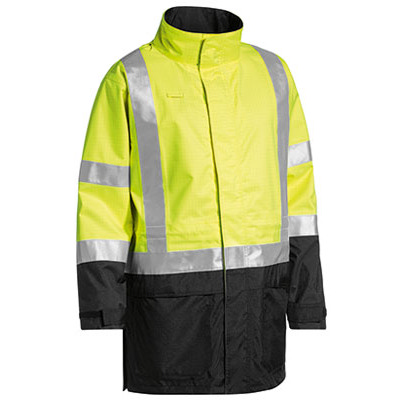 Bisley 3M Taped Two Tone Hi Vis Anti Static Wet