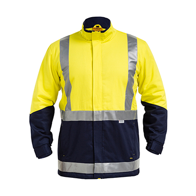 Bisley 3M Taped Hi Vis 3 In 1 Drill Jacket