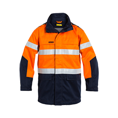 Bisley Taped Two Tone Hi Vis Fr Jacket