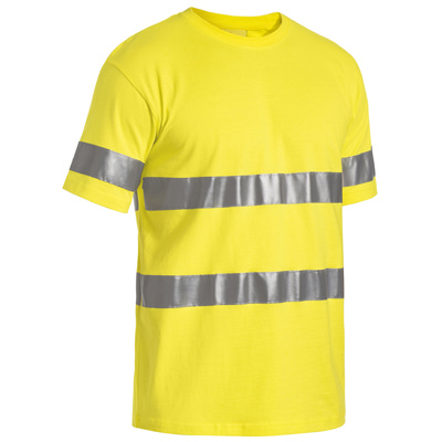 Bisley 3M Taped Hi Vis Cotton T-Shirt