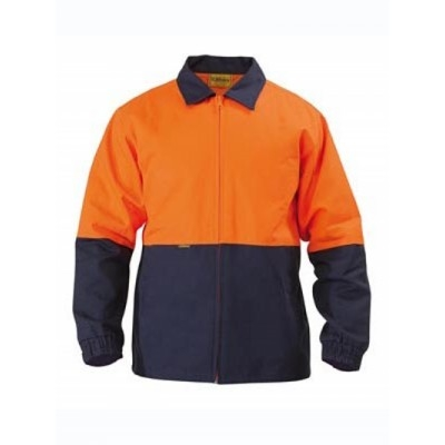 Bisley Two Tone Hi Vis Drill Jacket