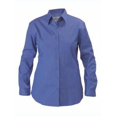 Bisley Womens Cross Dyed Shirt -  Long Sleeve