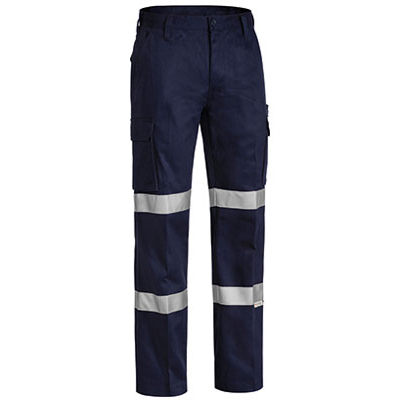 3M Double Taped Cotton Drill Cargo Work Pant