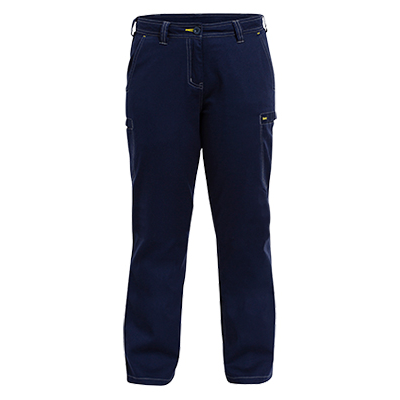 Bisley Womens Cool Vented Lightweight Pant With Contrast Stitching