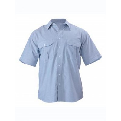 Bisley Oxford Shirt - Short Sleeve