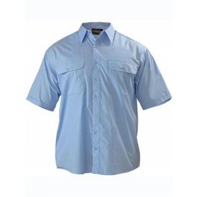 Bisley Permanent Press Shirt - Short Sleeve