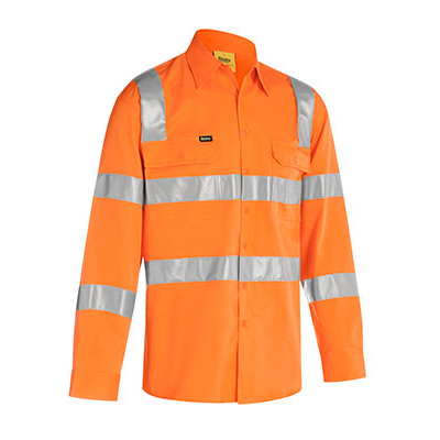 Bisley Taped Biomotion Cool Lightweight  Hi Vis
