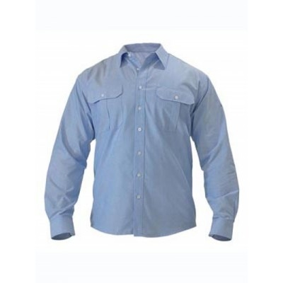 Bisley Oxford Shirt - Long Sleeve