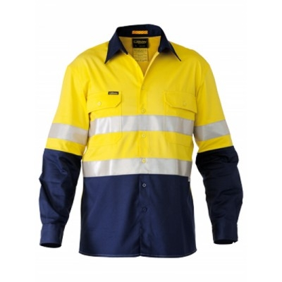 Bisley 3M Taped Two Tone Hi Vis Industrial Cool