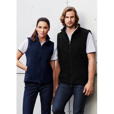 Plain Microfleece Ladies Vest