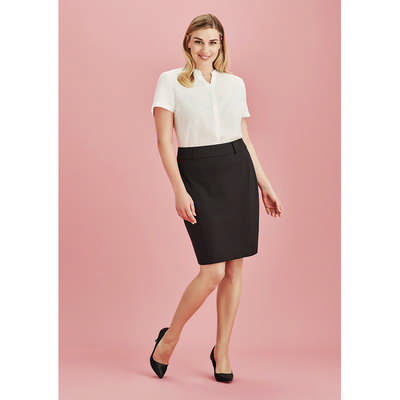 Womens Skirt with Rear Split (20640_BZC)