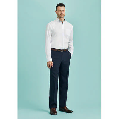 Mens Flat Front Pant Regular (70112R_BZC)