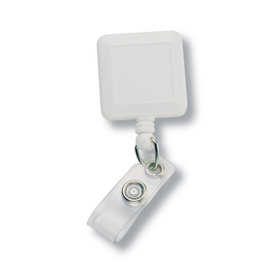 Badge Holder - White