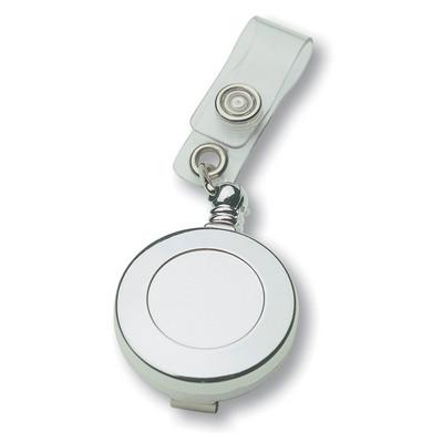 Badge Holder - Silver