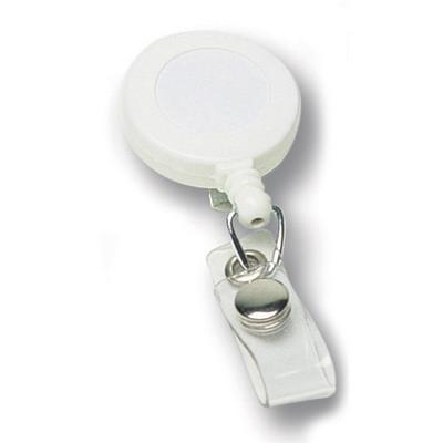 Badge Holder - White