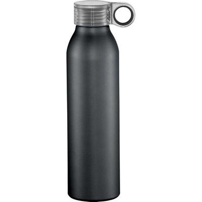 Grom 22 oz. Aluminum Sports Bottle - Black