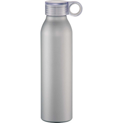 Grom 22 oz. Aluminum Sports Bottle - Silver