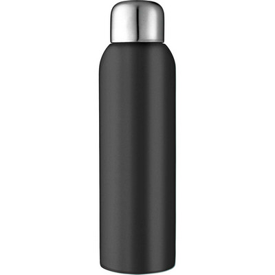 Guzzle 28oz. Stainless Steel Sports Bottle - Black