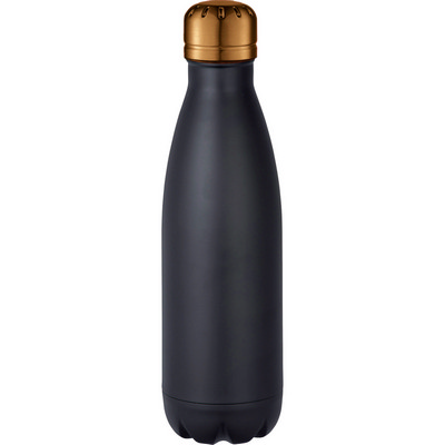 Mix-n-Match Copper Vacuum Insulated Bottle - BlackCopper