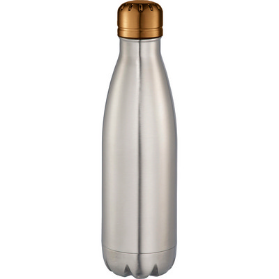 Mix-n-Match Copper Vacuum Insulated Bottle - SilverCopper