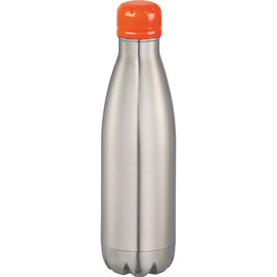 Mix-n-Match Copper Vacuum Insulated Bottle - SilverOrange