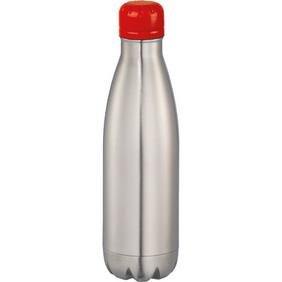 Mix-n-Match Copper Vacuum Insulated Bottle - SilverRed