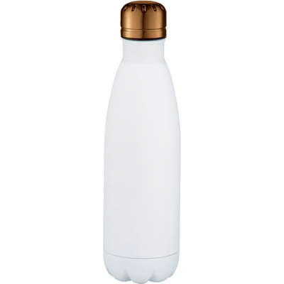 Mix-n-Match Copper Vacuum Insulated Bottle - WhiteCopper