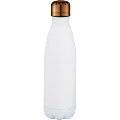 Mix-n-Match Copper Vacuum Insulated Bottle - WhiteCopper