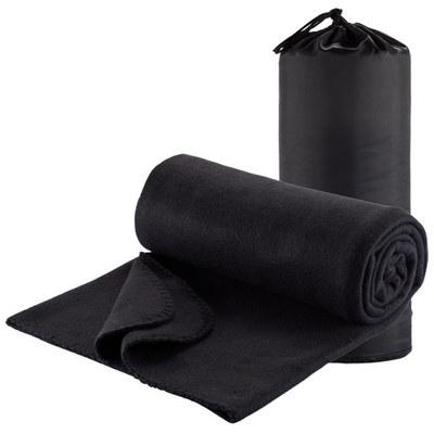 Polar Fleece Travel Rug - Black