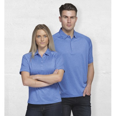 Dri Gear Melange Polo - Mens