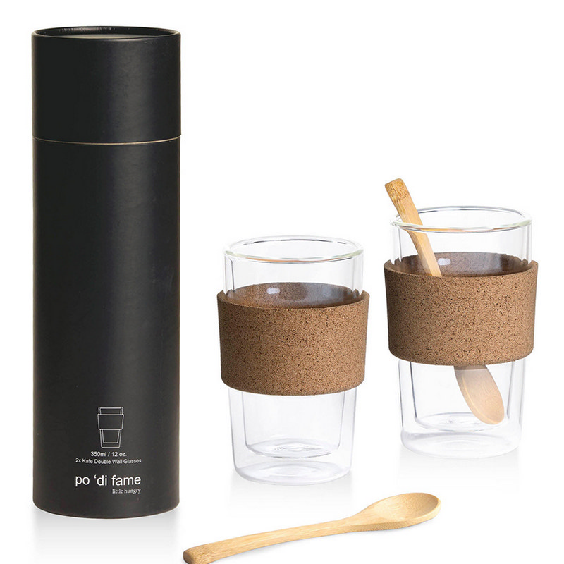 Kafe Double Walled Glass Set