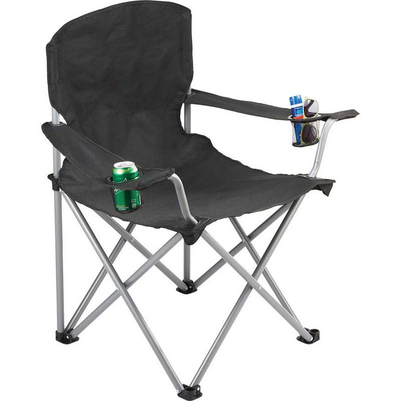 Trekk Oversized Folding Chair - Black