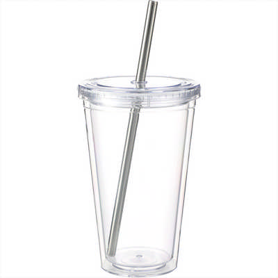 Reusable Stainless Straw Set with Eco Tube (1628-52_BUL)