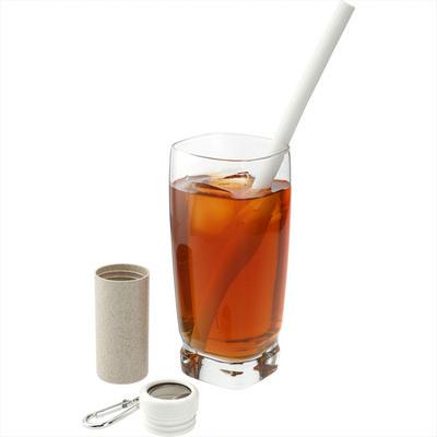 Reusable Straw in Bottle Opener Case (SM-2217_BUL)