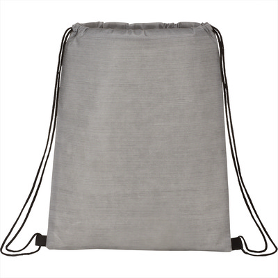 Graphite Non-Woven Drawstring Bag (SM-5885_BUL)