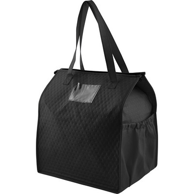 Deluxe Non-Woven Insulated Grocery Tote (SM-7722_BUL)