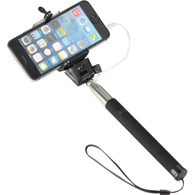 Wire Selfie Stick - (printed with 1 colour(s)) SM-3989_BUL