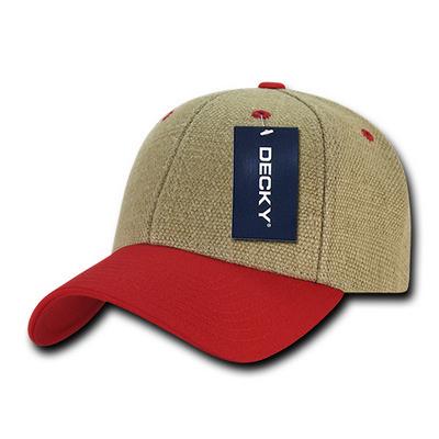 Low Crown Structured Jute Hat (230_C3)