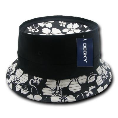 Floral Brim Fisherman Hat (456_C3)